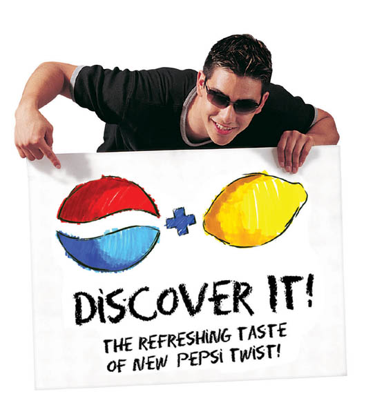 Johnny Twist.  Click Here for Pepsi UK.
