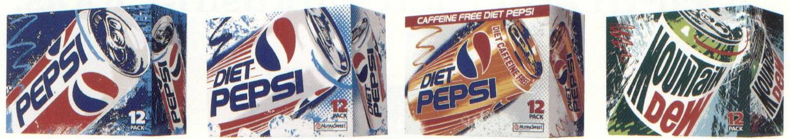 Pepsi Pop Art Graphics