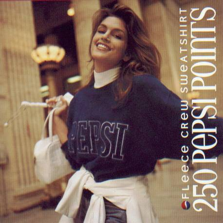 Cindy Crawford Launches Pepsi Stuff