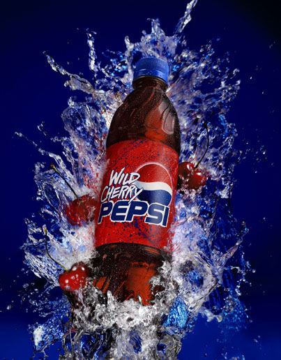 Wild Cherry Pepsi.  Click here to visit Pepsi Japan.